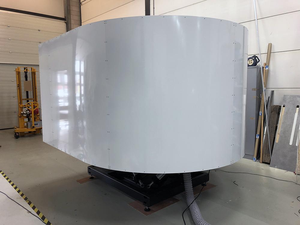 TRC 472FGM 6DOF Full Motion Flight Simulator – Simkits